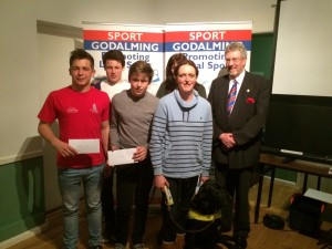 Sport Godalming Road To Rio Grant Winners