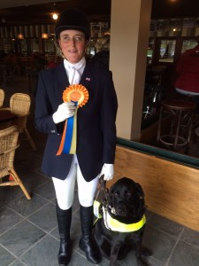 Nicky Greenhill and Hebe at Prize Giving, Roosendaal