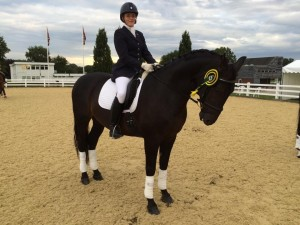 Nicky Greenhill 6th at Medium Restricted National Championships
