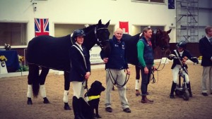 Nicky Greenhill - Overall Grade III Champion - Bury Farm International